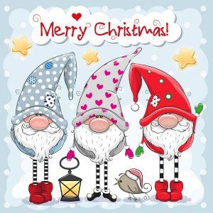 Гномы Счастливого рождества