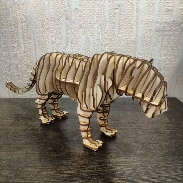 3Д пазл тигр