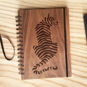 Обложка блокнота Тигр