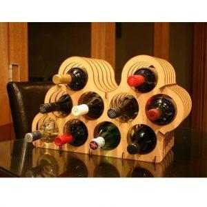Подставка хранилище для 10 бутылок